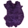 Rabbit Fur Skin - Medium Grade  Dyed Purple (1pc)